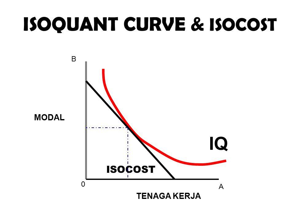 ISOQUANT CURVE & ISOCOST