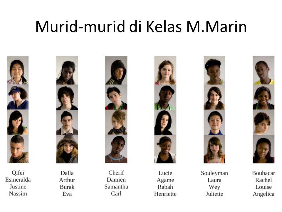 Murid-murid di Kelas M.Marin