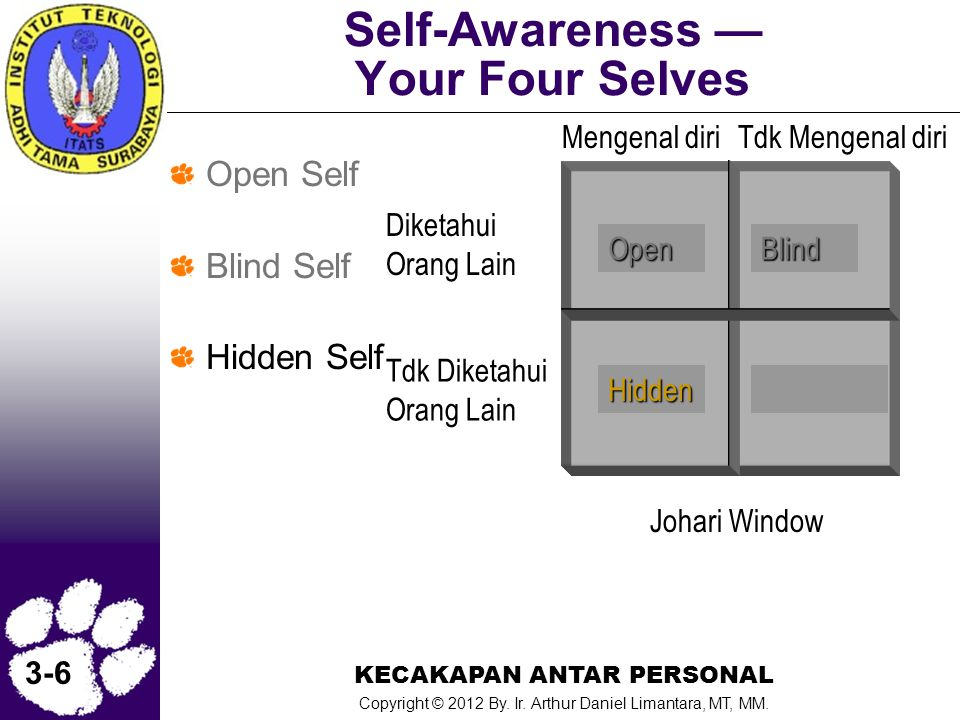 Self-Awareness — Your Four Selves