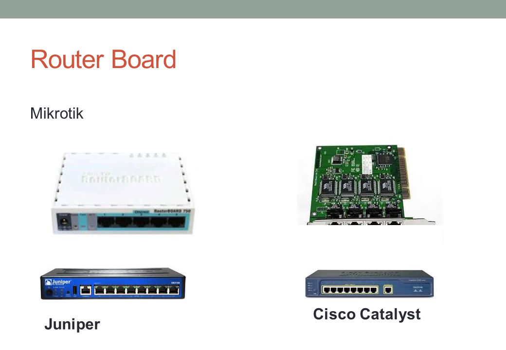 Router Board Mikrotik Cisco Catalyst Juniper