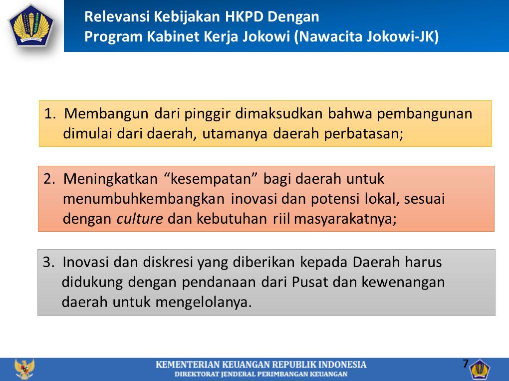 Relevansi Kebijakan HKPD Dengan