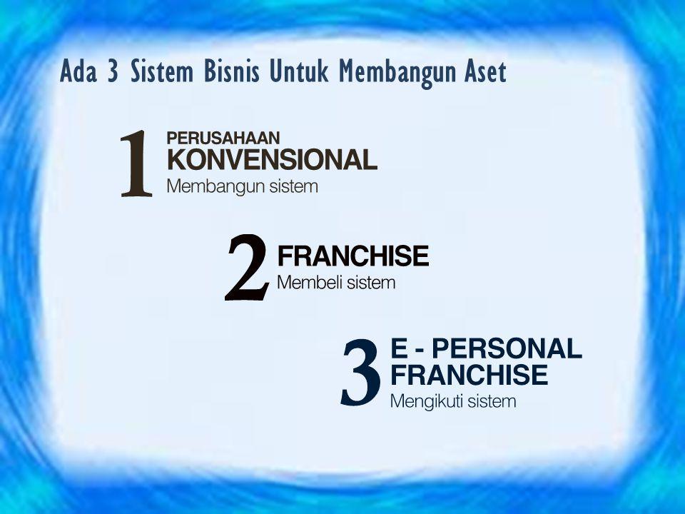 Ada 3 Sistem Bisnis Untuk Membangun Aset