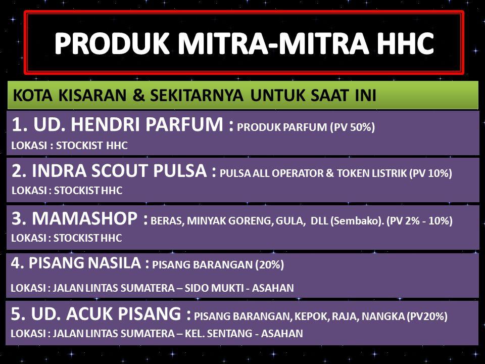 PRODUK MITRA-MITRA HHC