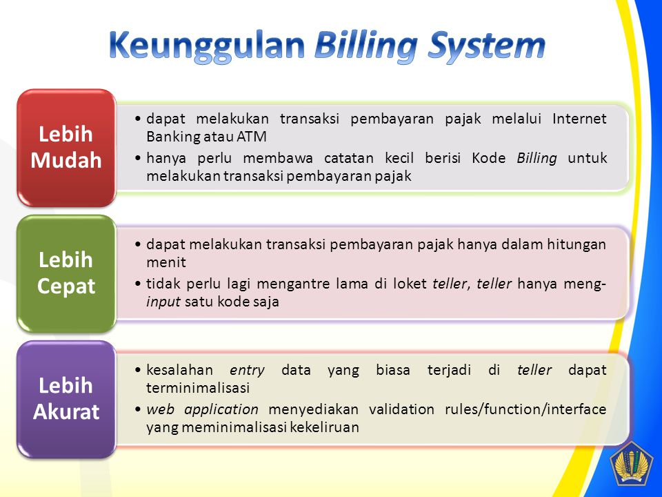 Keunggulan Billing System