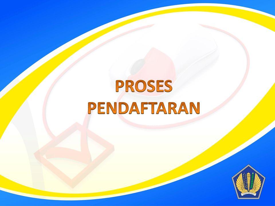PROSES PENDAFTARAN