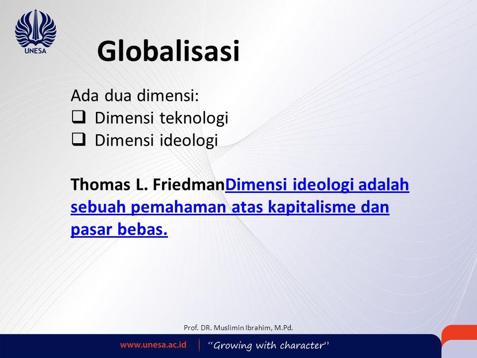 Prof. DR. Muslimin Ibrahim, M.Pd.