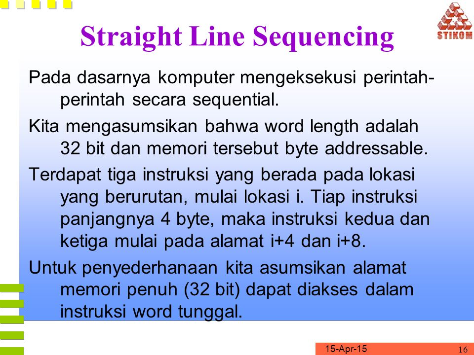 Straight Line Sequencing