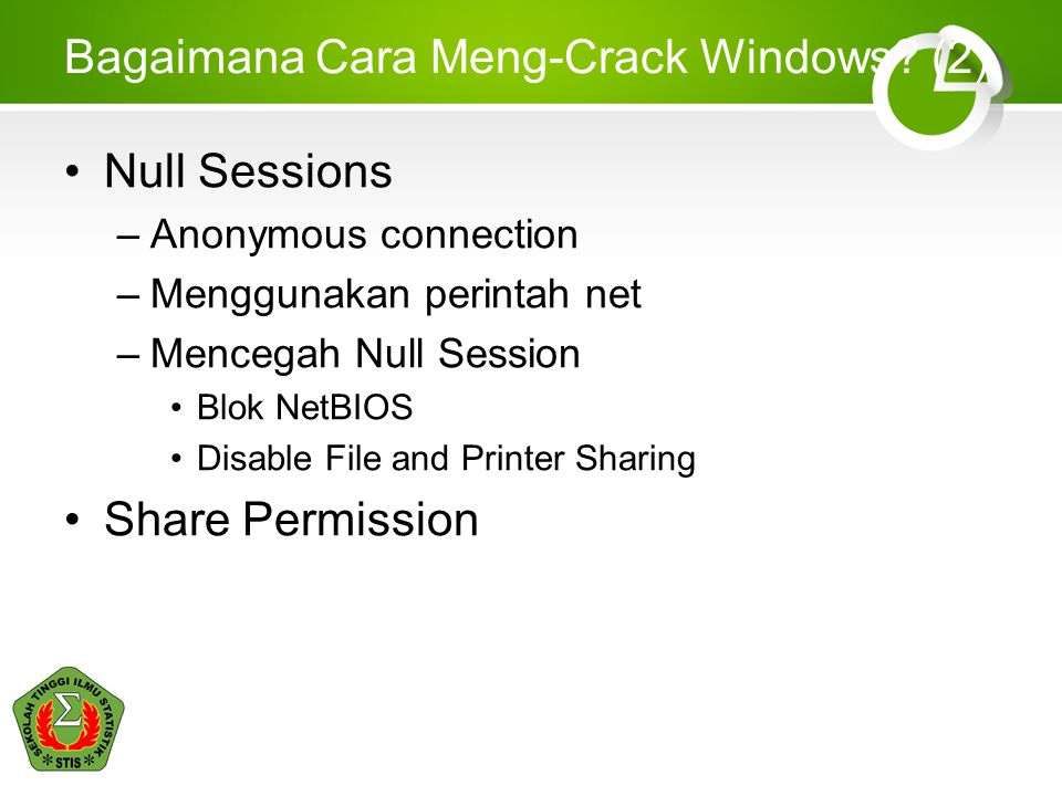 Bagaimana Cara Meng-Crack Windows (2)