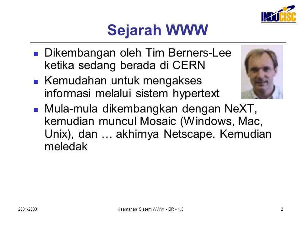 Keamanan Sistem WWW - BR - 1.3
