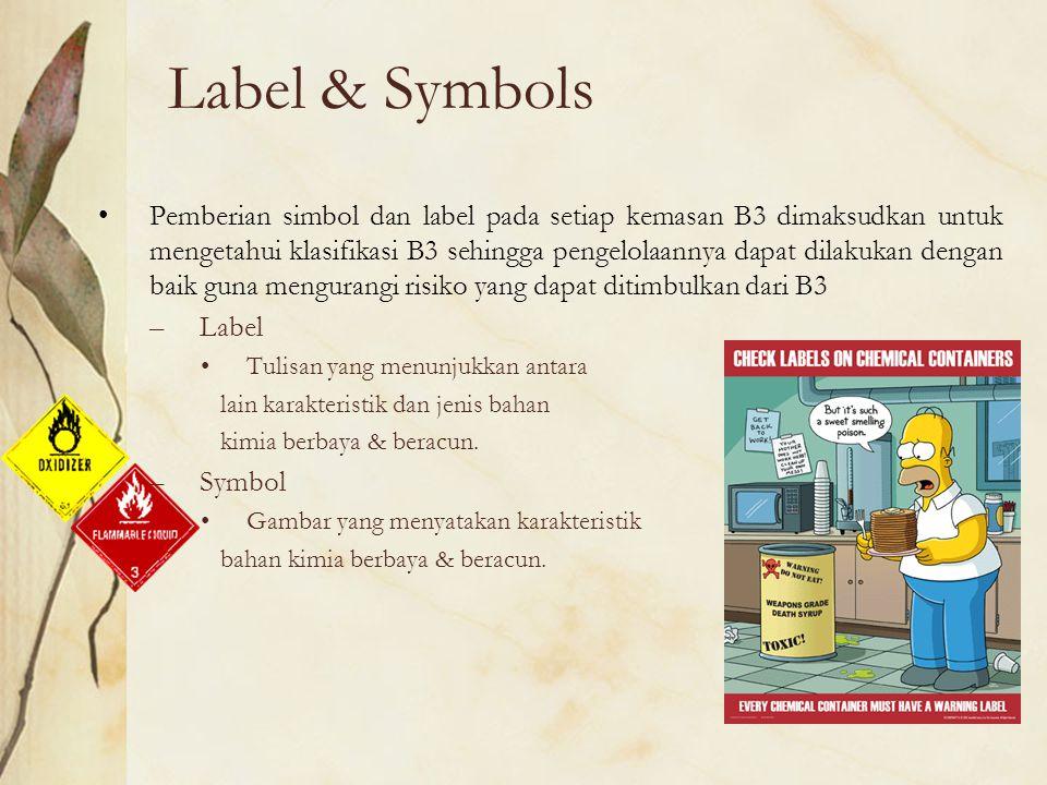 Label & Symbols