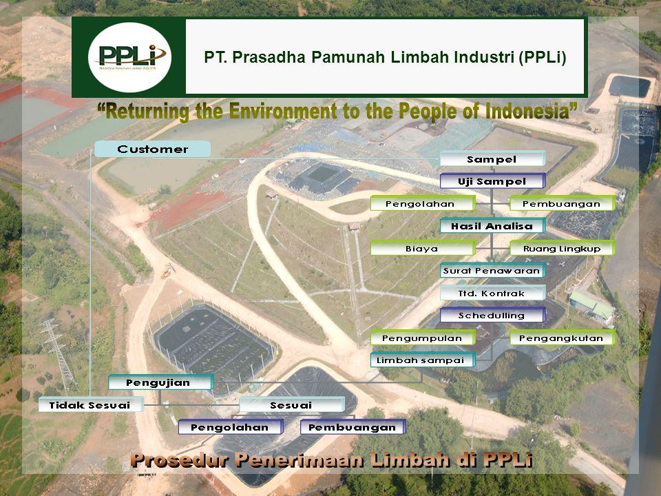 PT. Prasadha Pamunah Limbah Industri (PPLi)