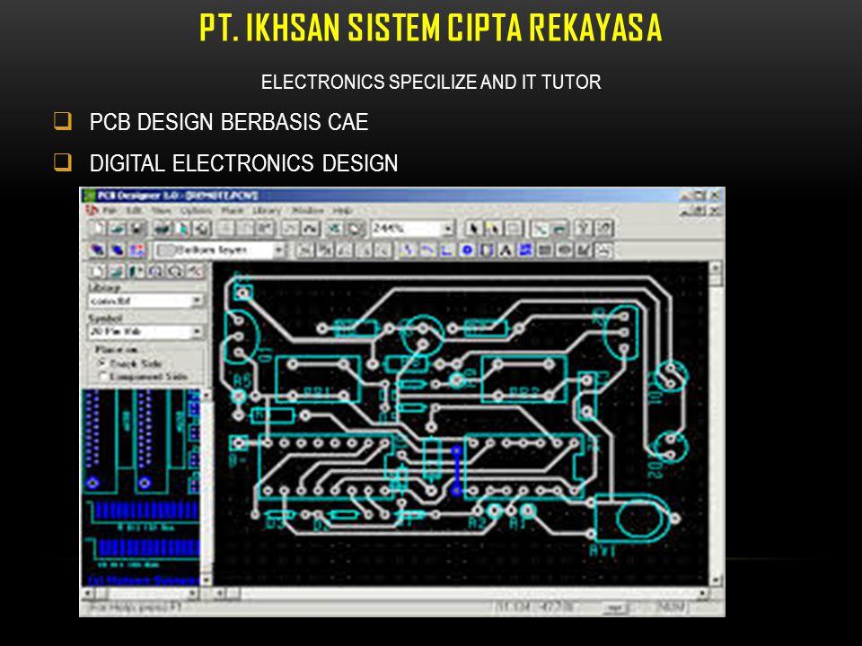 PT. Ikhsan Sistem Cipta Rekayasa