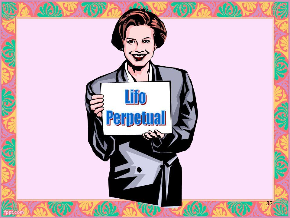Lifo Perpetual