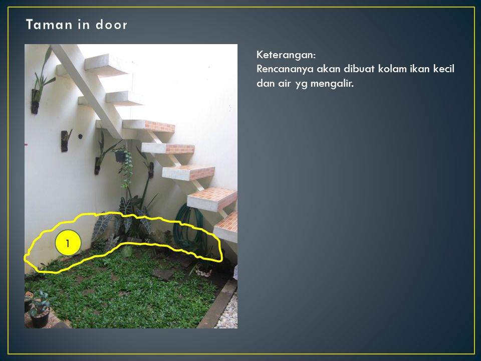 Taman in door Keterangan: