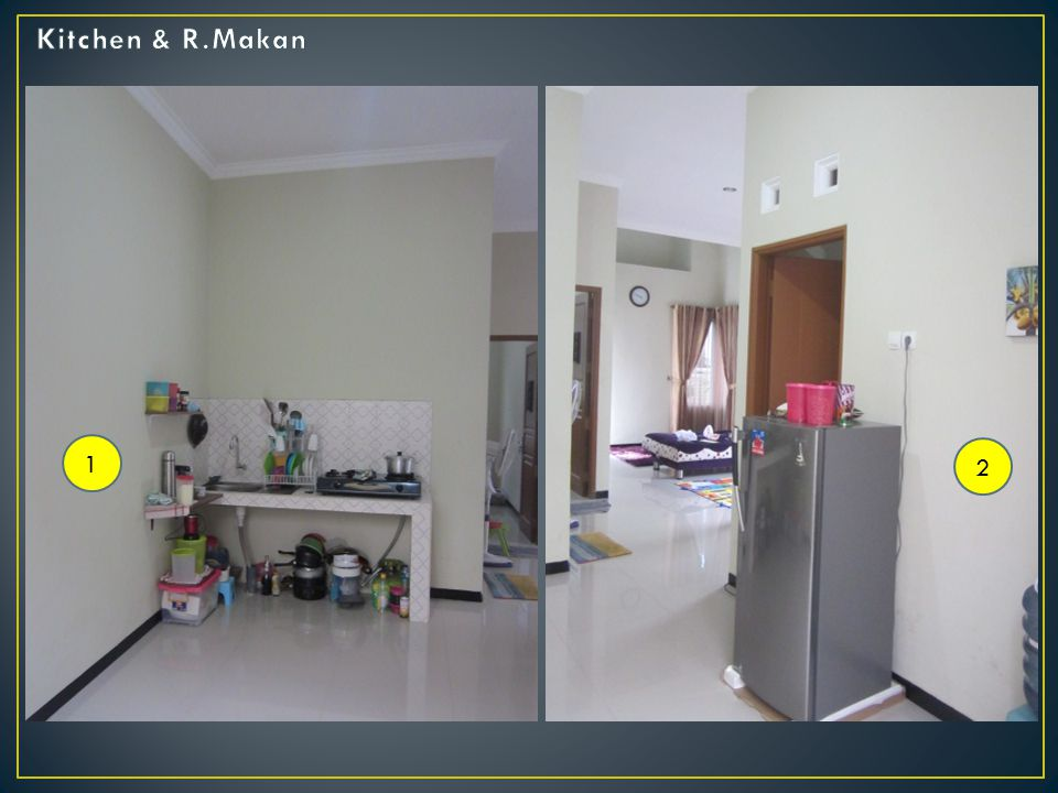 Kitchen & R.Makan 1 2