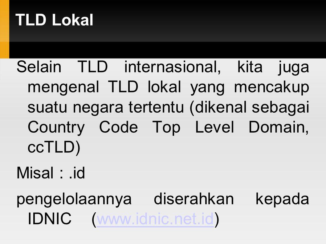 TLD Lokal