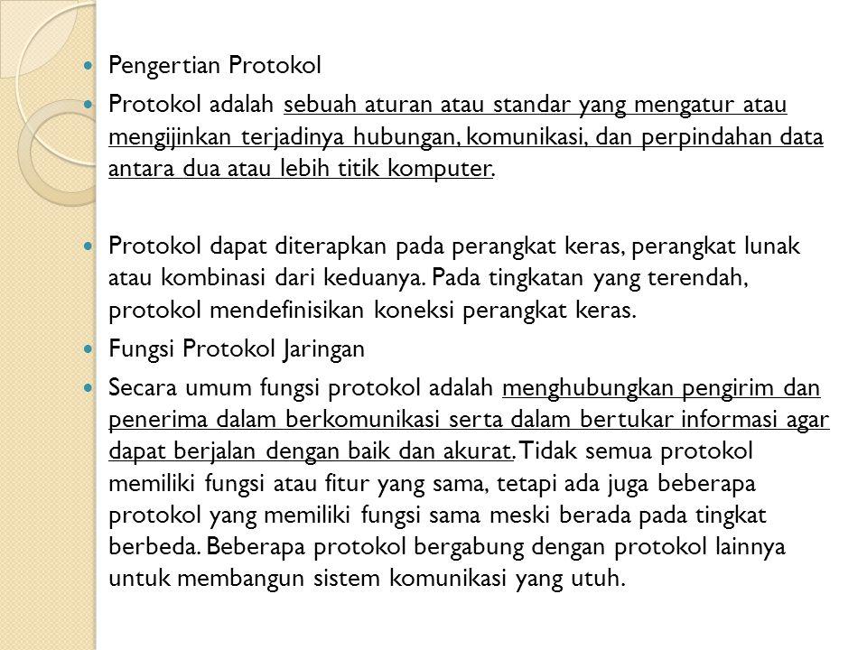 Pengertian Protokol