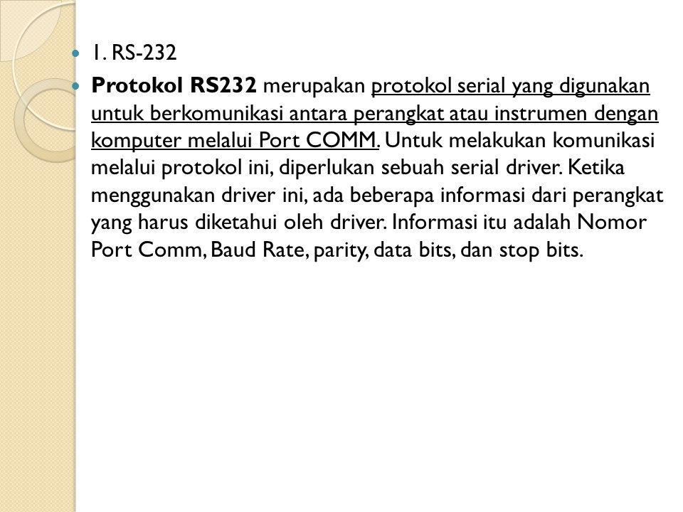 1. RS-232