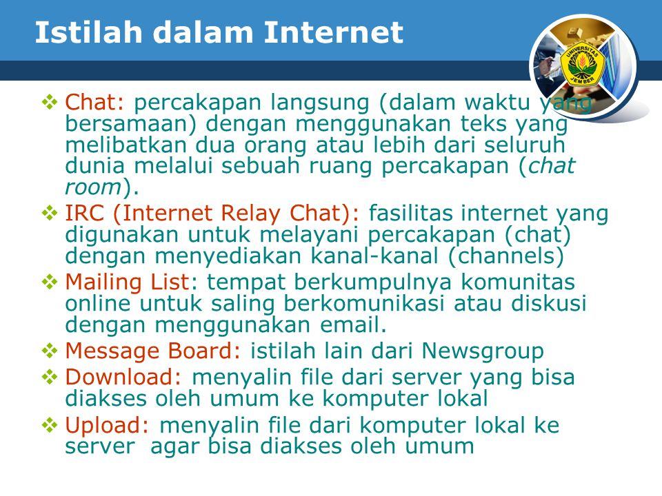 Istilah dalam Internet