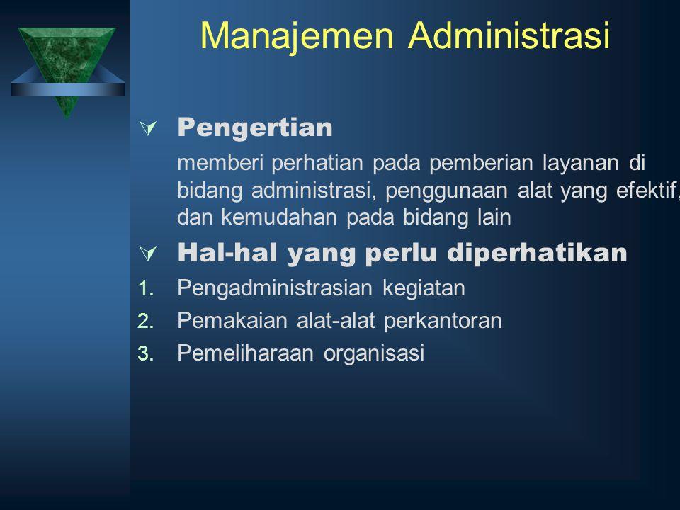 Manajemen Administrasi