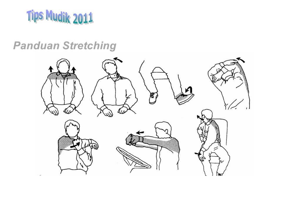 Tips Mudik 2011 Panduan Stretching