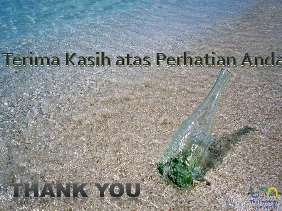 Terima Kasih atas Perhatian Anda