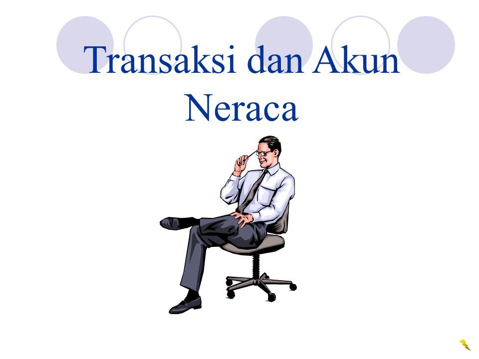 Transaksi dan Akun Neraca