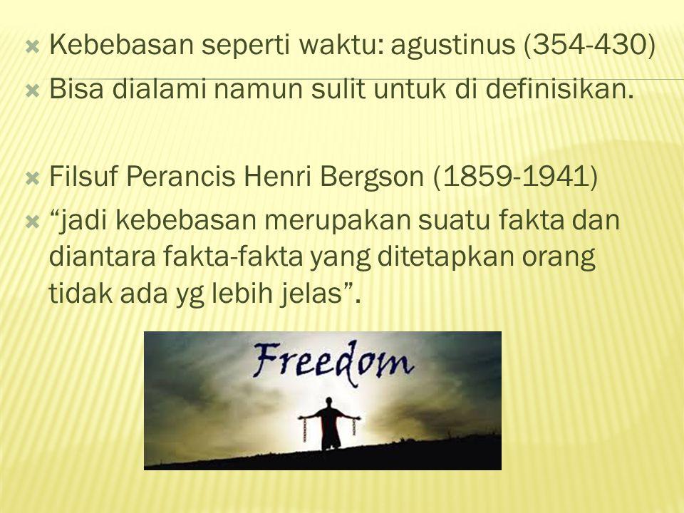 Kebebasan seperti waktu: agustinus (354-430)