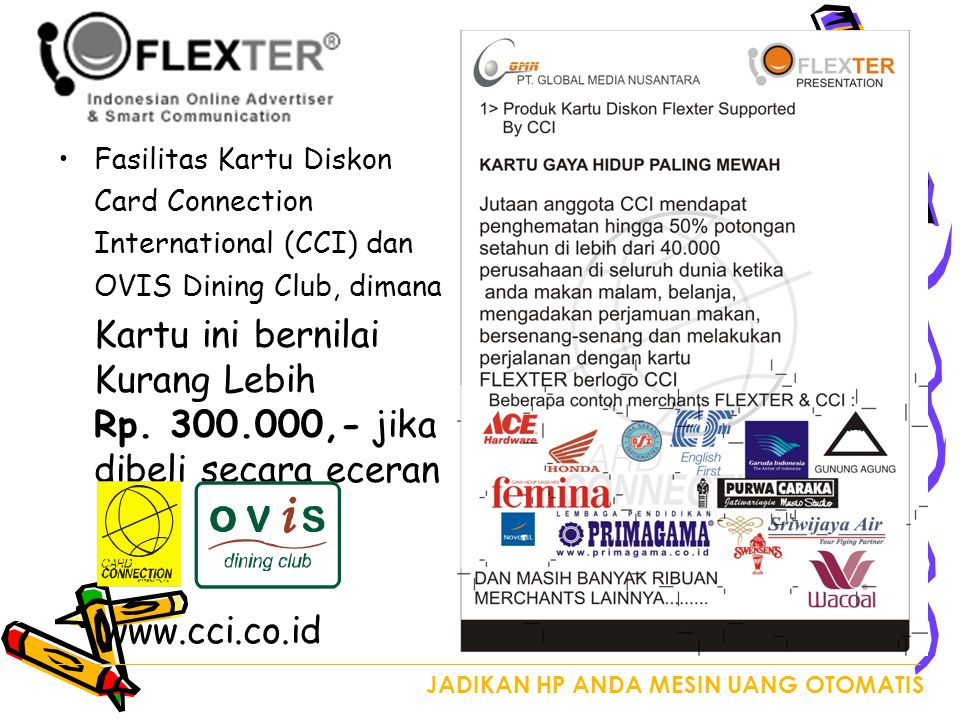 www.cci.co.id Fasilitas Kartu Diskon Card Connection