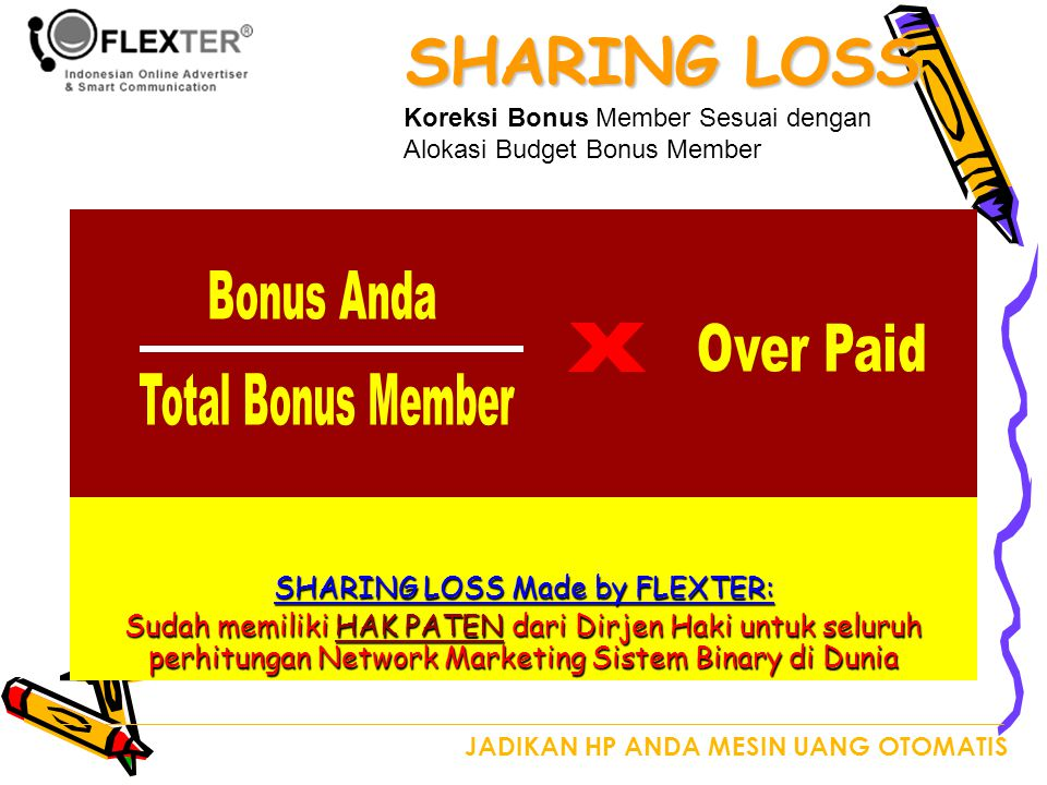 SHARING LOSS Made by FLEXTER:
