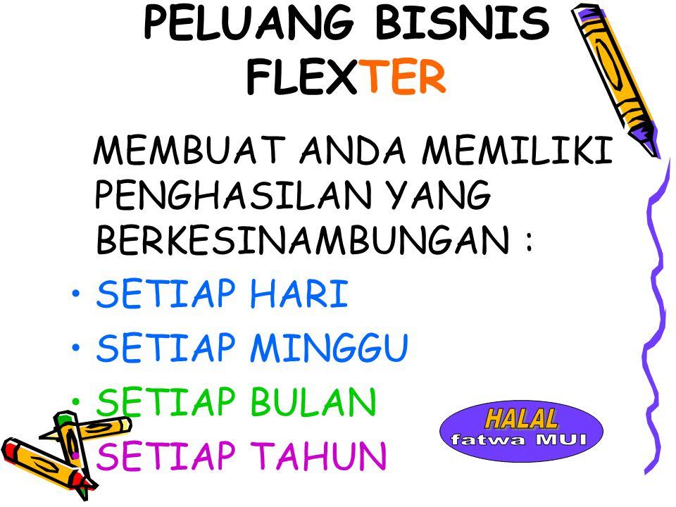 PELUANG BISNIS FLEXTER