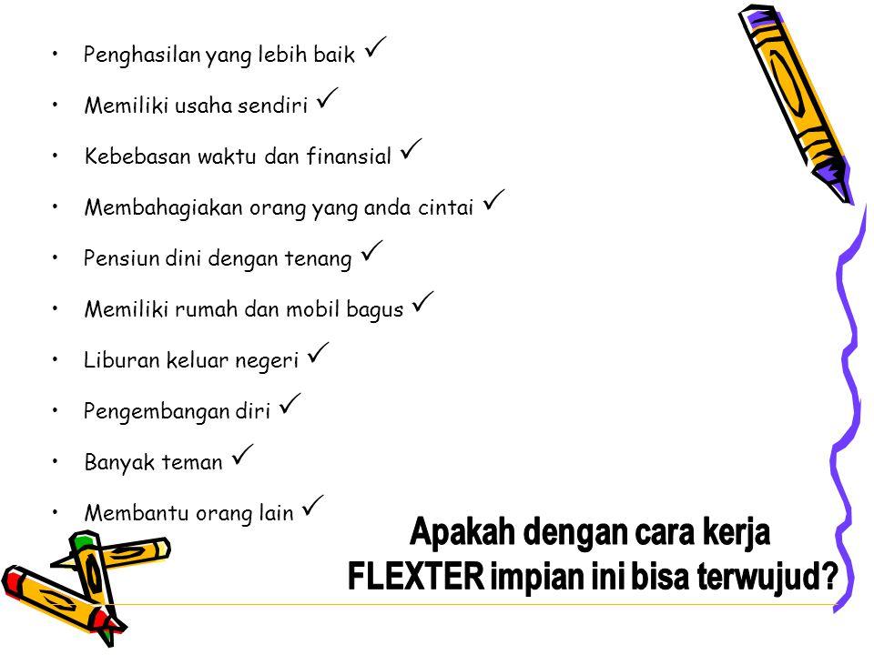 Apakah dengan cara kerja FLEXTER impian ini bisa terwujud