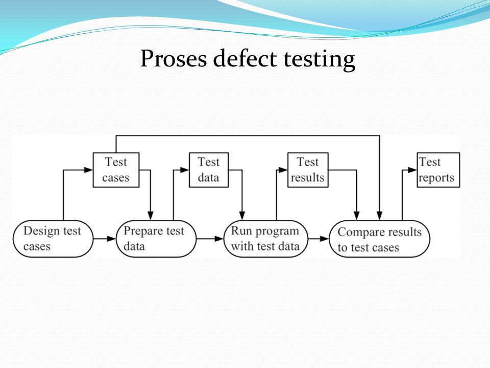 Proses defect testing