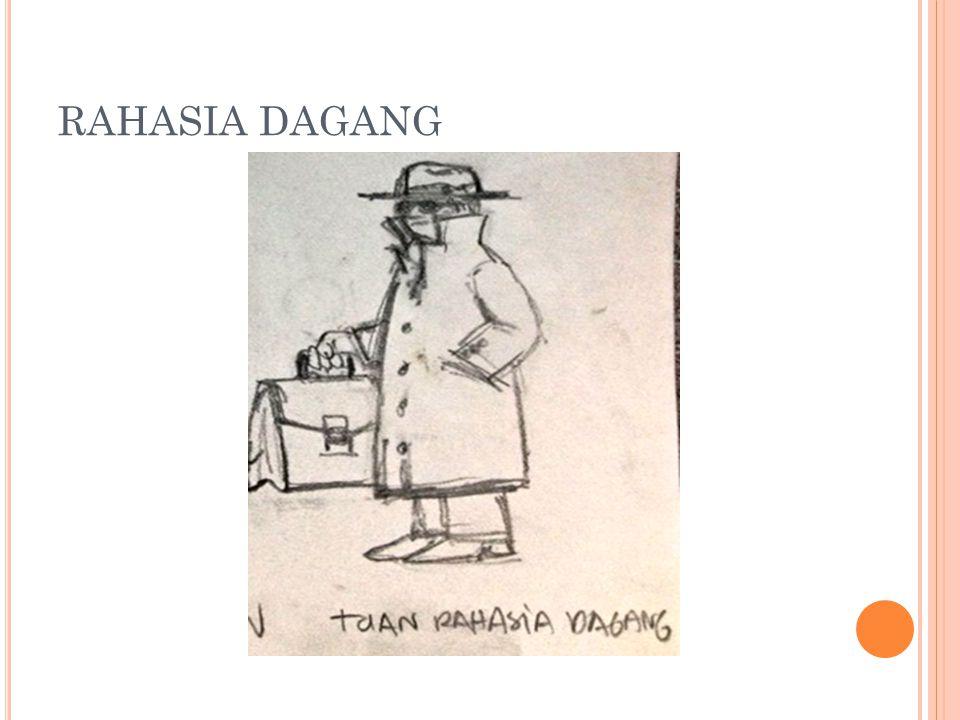 RAHASIA DAGANG