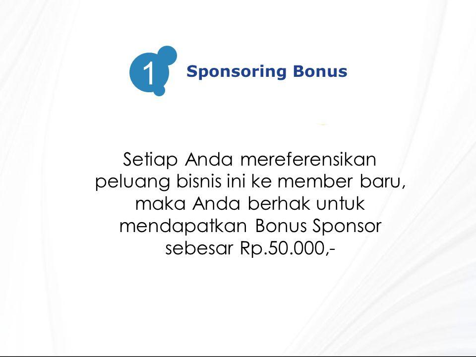 Sponsoring Bonus 1.