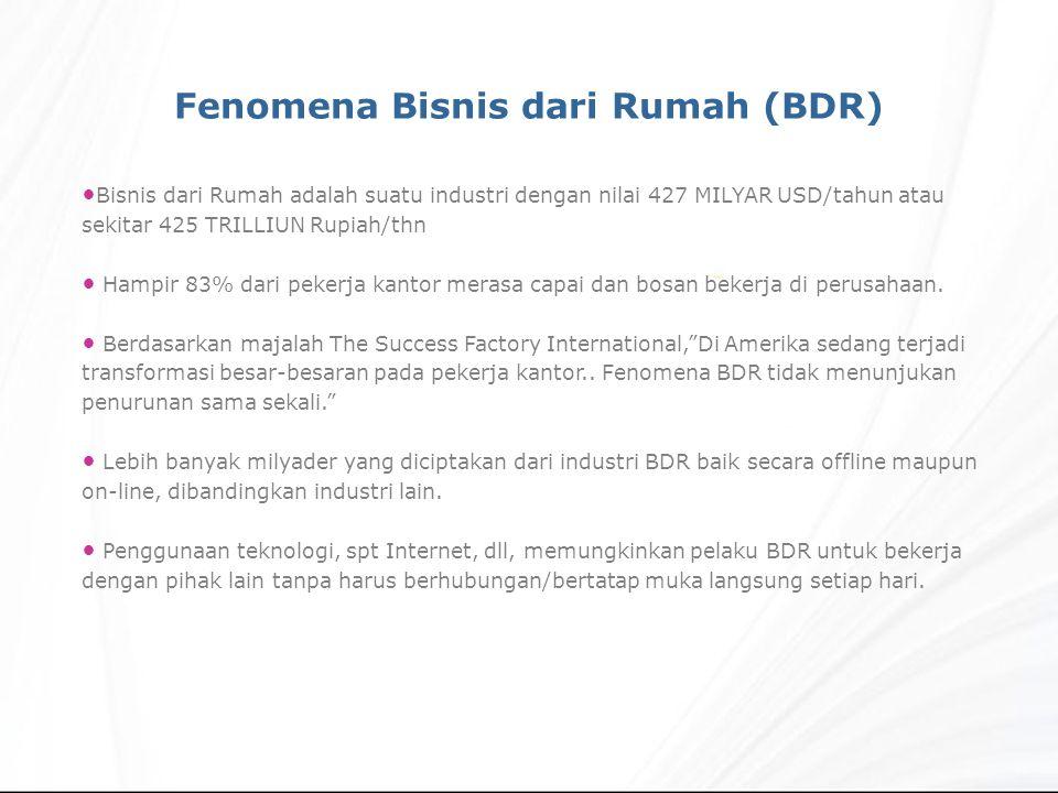 Fenomena Bisnis dari Rumah (BDR)