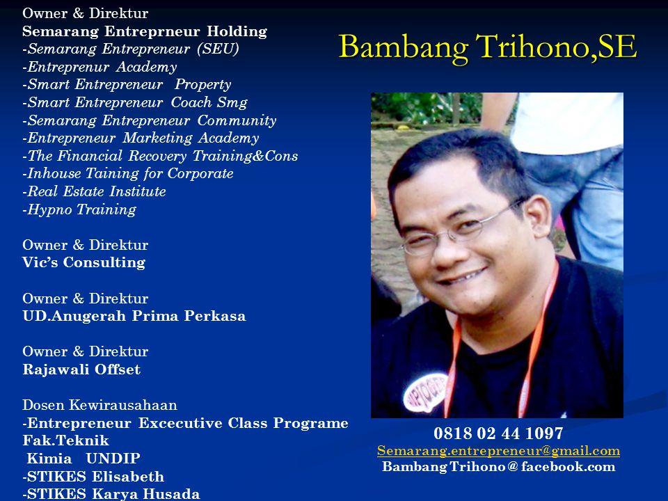 Bambang Trihono @ facebook.com
