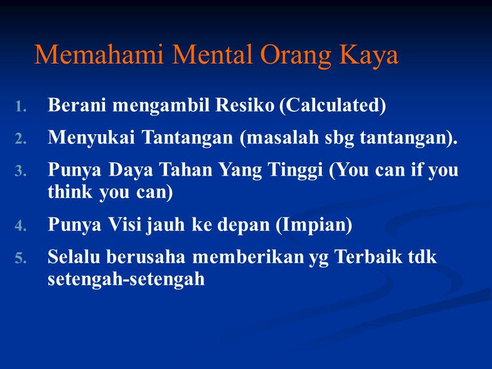 Memahami Mental Orang Kaya