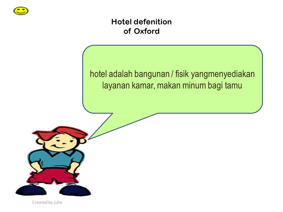 Hotel defenition of Oxford