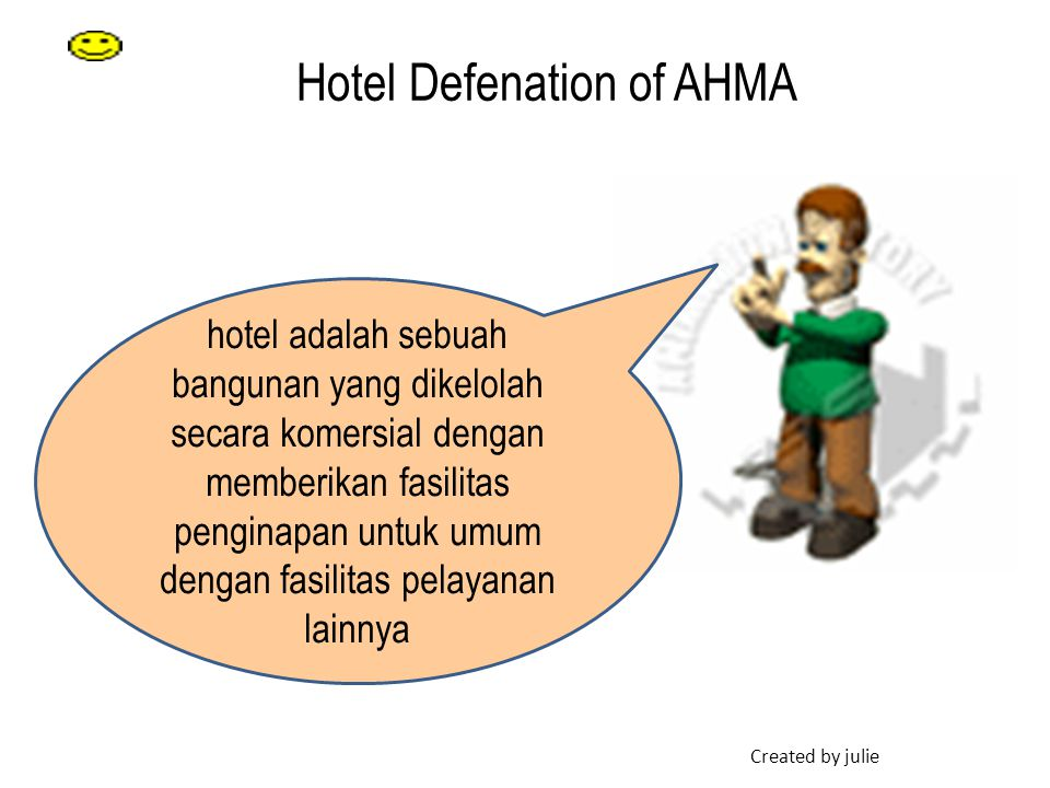 Hotel Defenation of AHMA