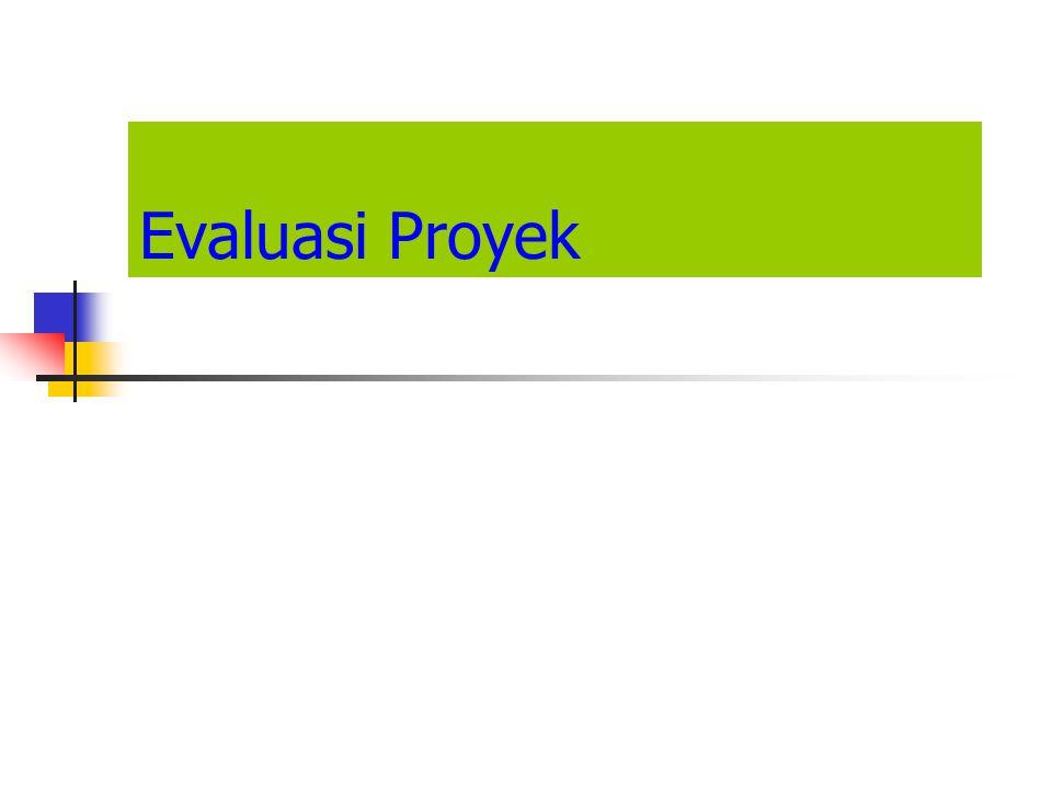 Evaluasi Proyek