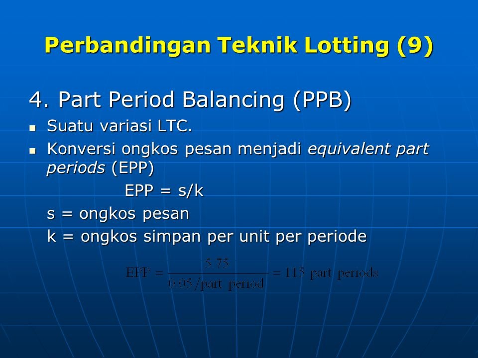 Perbandingan Teknik Lotting (9)