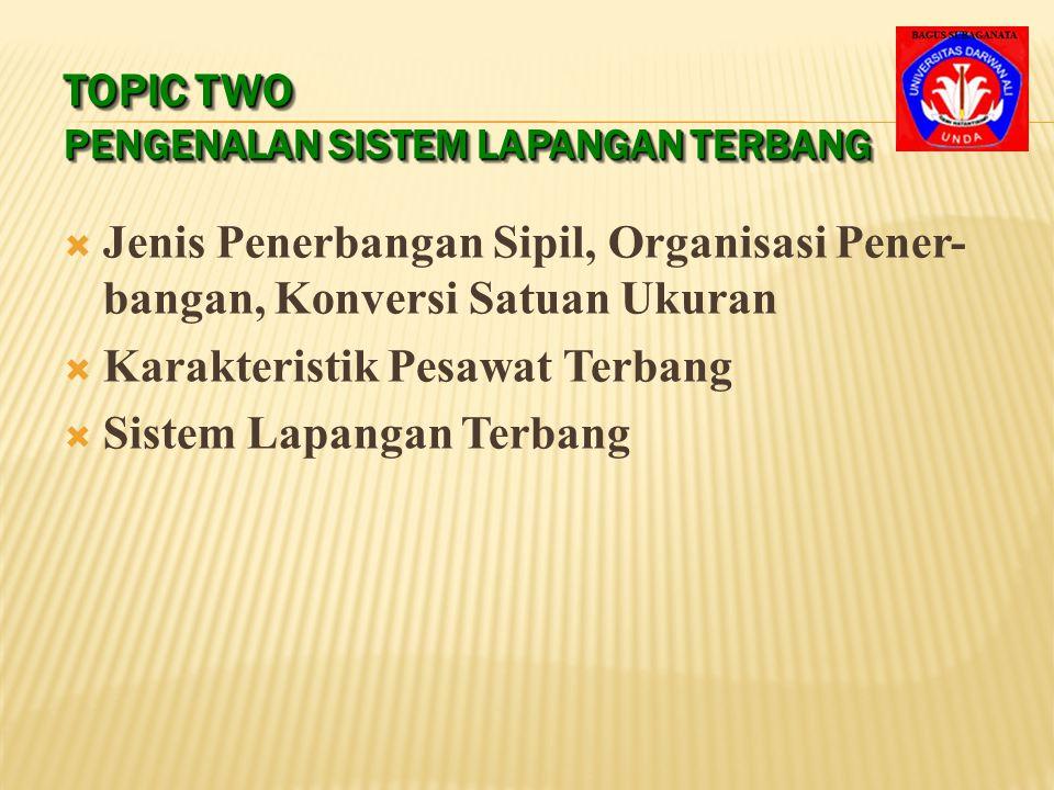 Topic Two Pengenalan Sistem Lapangan Terbang