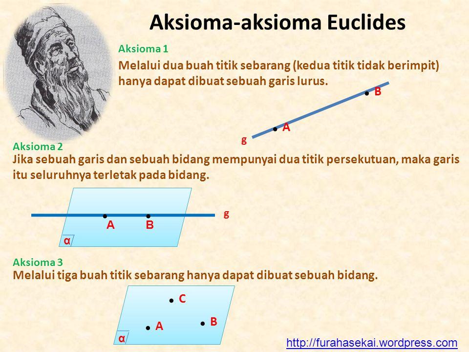 Aksioma-aksioma Euclides