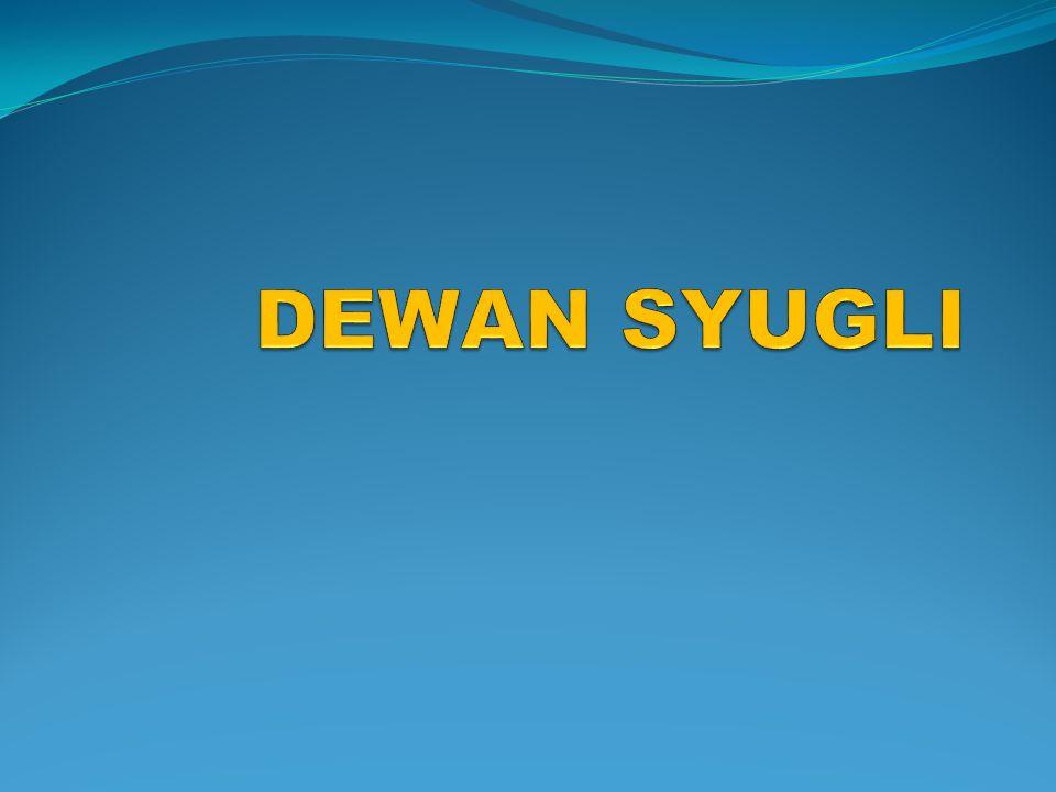 DEWAN SYUGLI