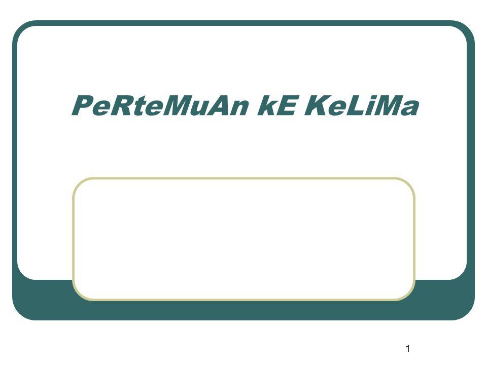 PeRteMuAn kE KeLiMa