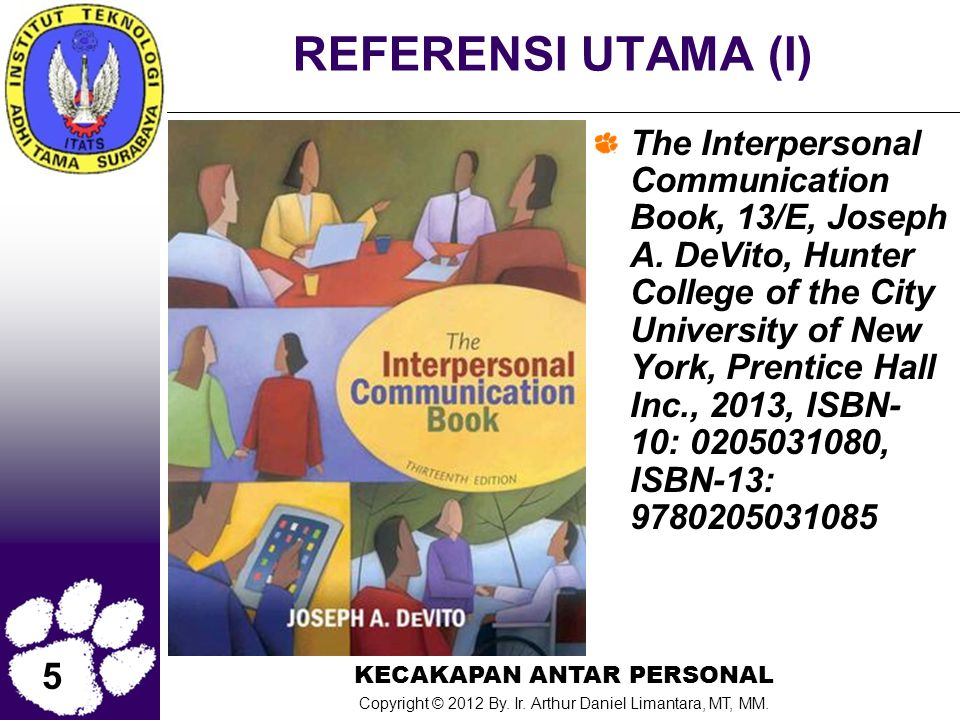 REFERENSI UTAMA (I)