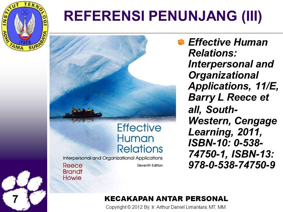 REFERENSI PENUNJANG (III)