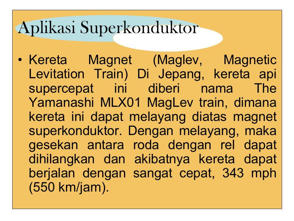 Aplikasi Superkonduktor