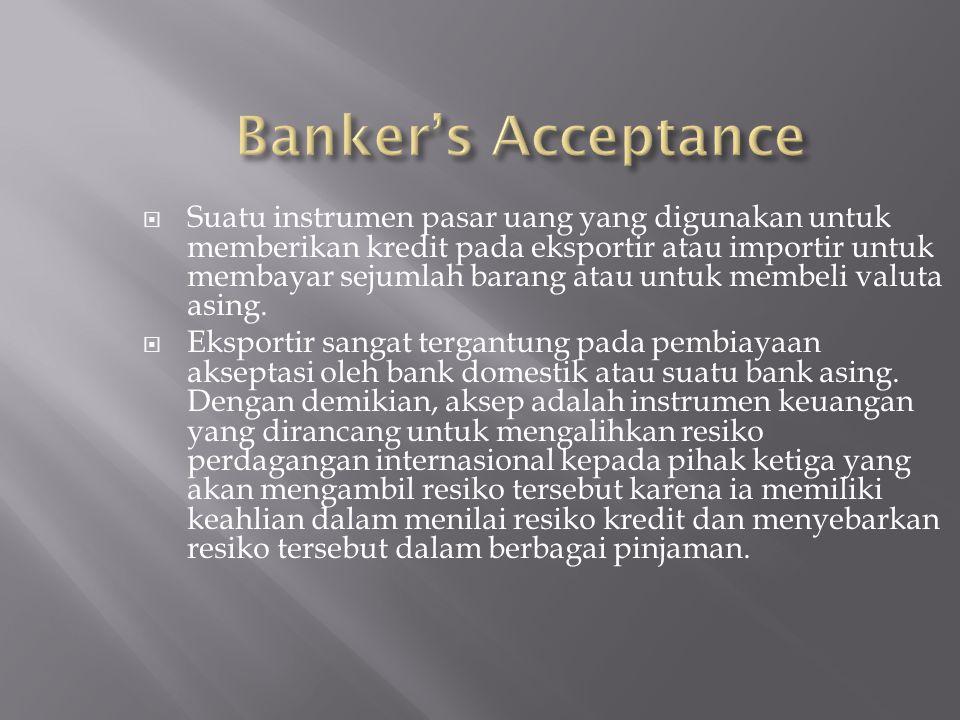 Banker's Acceptance